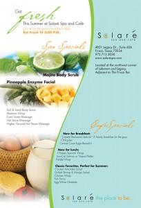Solare Spa Print Ad Campaign