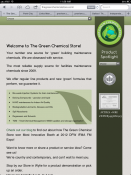 The Green Chemical Store Tablet