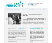 The PerfectFit Web Site Design by ribit