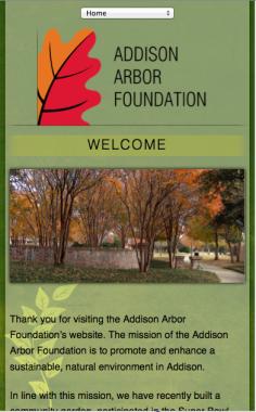 Addison Arbor Smartphone Design
