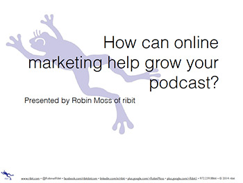 Online Marketing Podcast Presentation